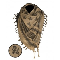 Μαντήλι Παλαιστίνης CT Skull Mil-Tec
