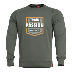 Μπλούζα Φούτερ Hawk Train Passion Pentagon K09019-TP