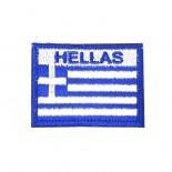 Σήμα Ελληνικής Σημαίας HELLAS