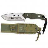 Μαχαίρι Επιβίωσης Bravo Green K25