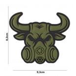 Σήμα Bull With Gassmask 101 INC