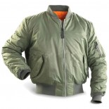 Basic MA1 flight jacket US OD Mil-Tec