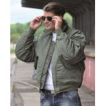 Basic CWU flight jacket US OD Mil-Tec