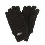 Γάντια Πλεκτά Κομμένα Δάχτυλα Mil-Tec BK
