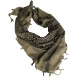 Shemagh scarf OD/BK Mil-Tec