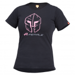 Μπλουζάκι Cotton Pentagon Artemis Black