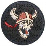 Σήμα Vicking Shield Καουτσούκ Black