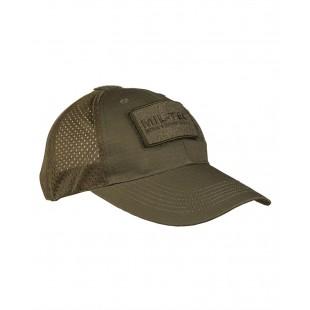 Καπέλο Χακί Rip/Mesh Jockey Mil-Tec 12317601