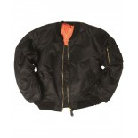 Basic MA1 flight jacket US BK Mil-Tec