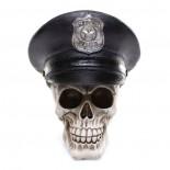 Μινιατούρα Κρανίο Αστυνόμου Με Καπέλο