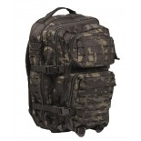 Backpack Laser Cut Assault Multit BLK SM Mil-Tec
