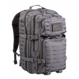 Backpack Laser cut assault urban grey OD LG Mil-Tec