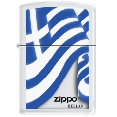 Αναπτήρας Greek Flag Zippo